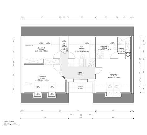 plan chambre parentale plan chambre parentale avec salle de bain et dressing le
