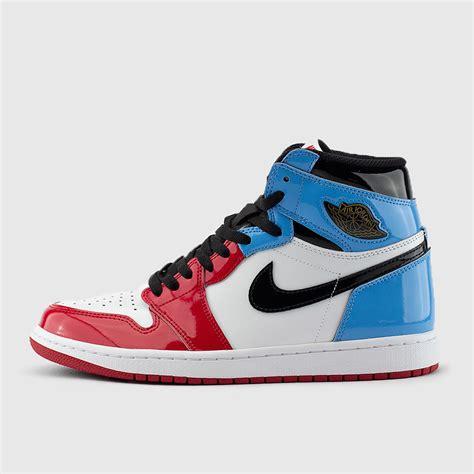 Jordan Mens Retro Air Jordan 1 High Og Fearless