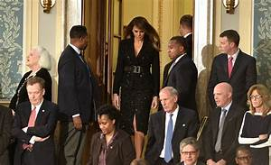 'Miserable' Melania Trump is cheery in $9,600 suit as she ...
