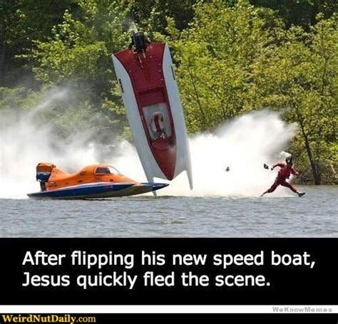 Dinghy Boat Meme by Pictures Weirdnutdaily Speedboat