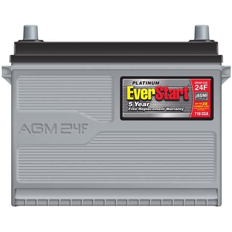 Everstart Platinum Agm Battery Group Size 24f 12 Volt