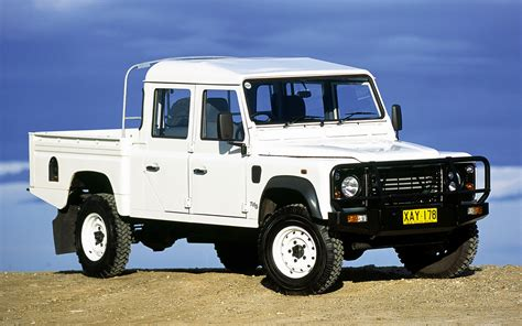 land rover defender  double cab pickup au