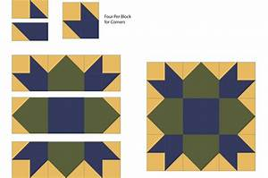Weathervane Quilt Block Pattern (a Star Quilt Design)