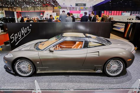 Spyker C8 Preliator Shown In Geneva Says No To