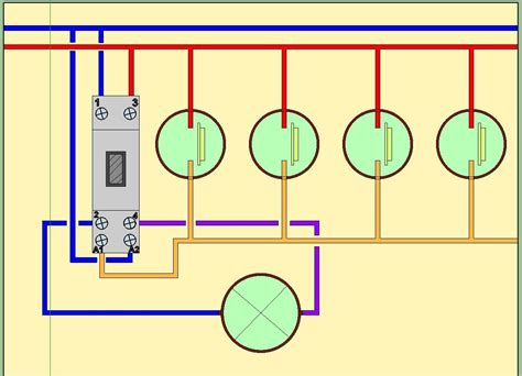 branchement electrique comment faire circuit eclairage