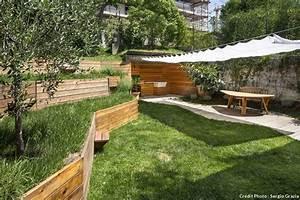amenagement jardin en pente conseils et astuces With amenagement de jardin en pente