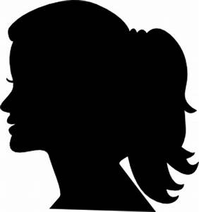Woman head side silhouette PNG/ICO/ICNS Free Icon Download ...
