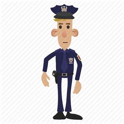 Police Cartoon Transparent Background Officer Security Cop