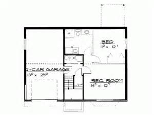 2 bedroom house plans with basement eplans contemporary modern house plan two bedroom contemporary 982 square and 2