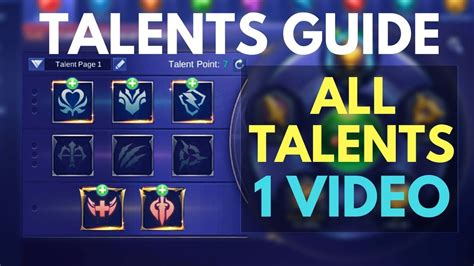 The Ultimate Emblem Talents Guide
