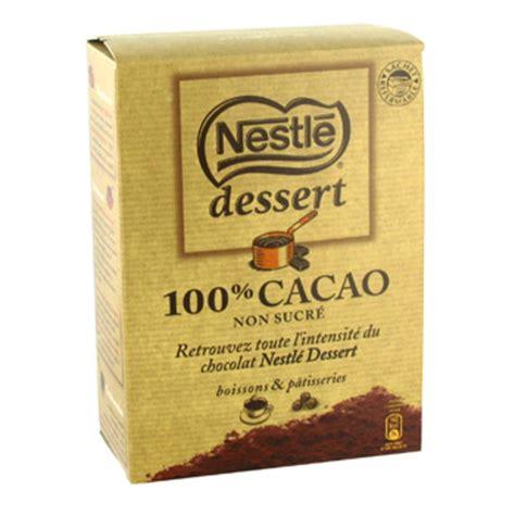 poudre cacao nestle dessert 250g simply market
