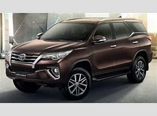 New Toyota Fortuner 2016 Expert Review, Advantage