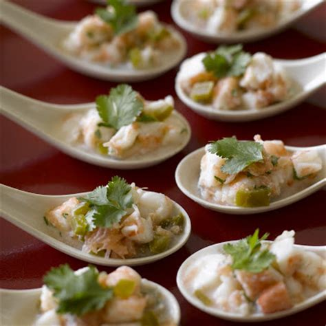 spoon canapes recipes atmosphere designed fresh daily keep it cool at the end