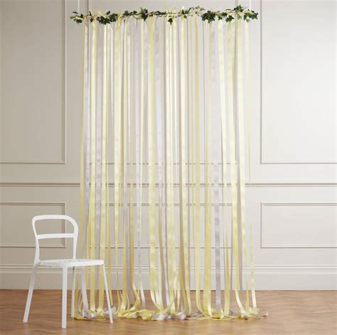 yellow and grey wedding backdrop by just add a dress