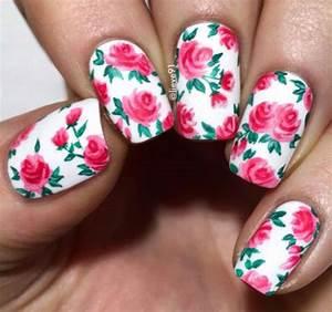 20+ Floral Nail Art Designs & Ideas 2017 | Spring Nails ...