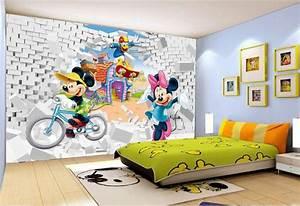 papier peint 3d personnalise decoration murale chambre d With papier peint chambre bebe