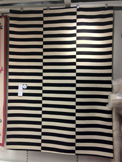 white rug ikea this black and white rug from ikea is a at 299 so