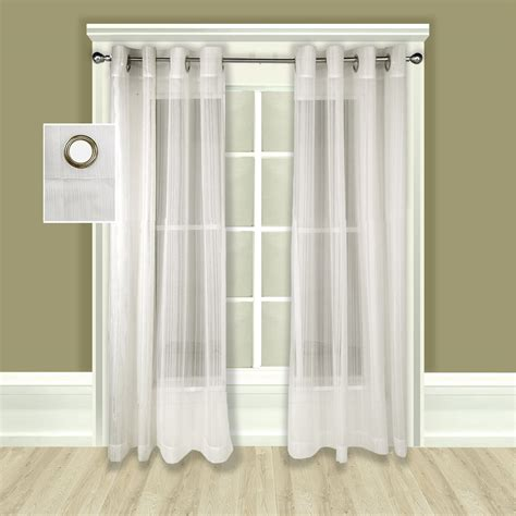 Sheer Curtains With Grommets by Sheer Curtains With Grommets Rooms