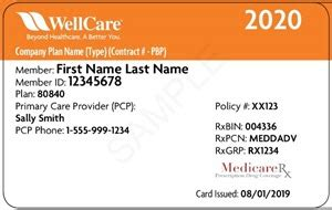 The insurance company uses this number to identify your employer's health insurance policy. New Medicare ID cards for 2020 | WellCare