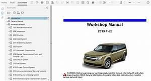 2013 Ford Flex Repair Manual