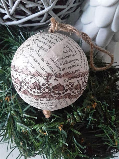 Weihnachtsdeko Noch Mehr Christbaumkugeln by Christbaumkugel Weihnachten Shabby Vintage Deko