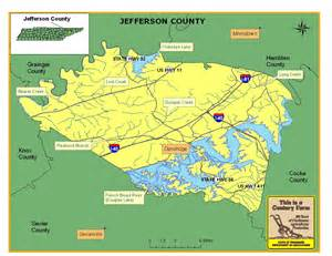 Jefferson County Tennessee Map