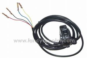 Electric Scooter Thumb Speed Controller With 4 Wires