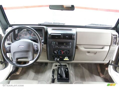 2005 jeep unlimited interior 2005 jeep wrangler unlimited rubicon 4x4 dashboard photos