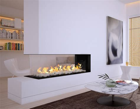 Flare Room Definer Fireplaces   Linear Fireplaces   Flare
