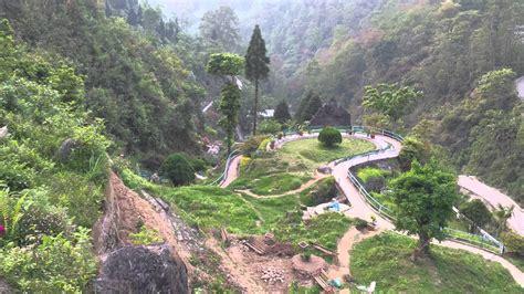 View From The Top , Rock Garden , Darjeeling