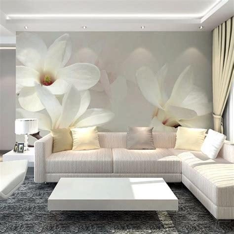 custom  photo wallpaper scenery  walls  magnolia