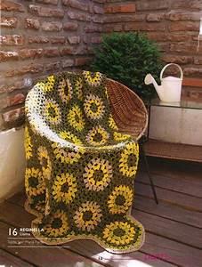 Sunflower Crochet Throw Pattern  U22c6 Crochet Kingdom