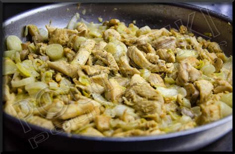 cuisiner des endives po 234 l 233 e d endives au poulet et chignons blogs de cuisine