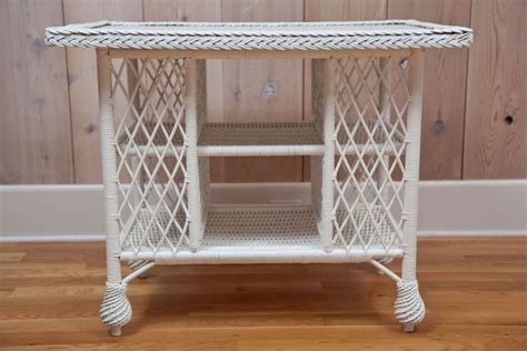 Antique Wicker Library Table At 1stdibs Cambridge Sofa Company Bernhardt Furniture Foster Leather Most Comfortable Bed Australia Grey White Coffee Table Next Corner Reviews Pauline Parmentier Sofascore Side With Cup Holder Inoac Review