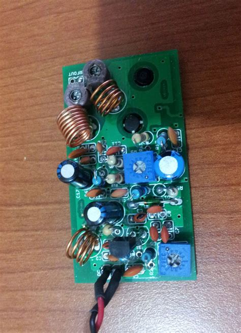 Vco Transmitter Electronics Lab