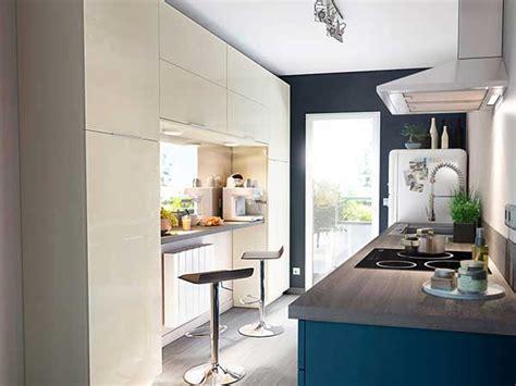 photo cuisine semi ouverte cuisine semi ouverte et bleu castorama
