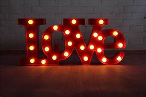 love red led marquee sign light up vintage adhesive With red light up marquee letters