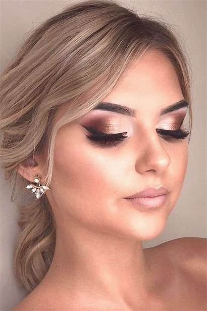 Makeup Smokey Eye Eyes Shimmer Eyeliner Idea