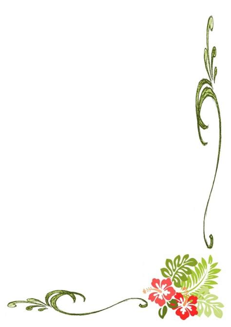 simple flower borders design hd border designs flower