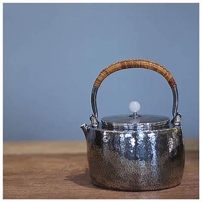 Tea Japanese Pot Handmade Teapot Pure Ceremony