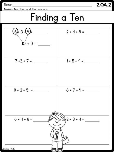 teach addition   grade worksheets worksheet hero