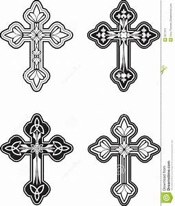 Ornate Cross Stock Image - Image: 3277311