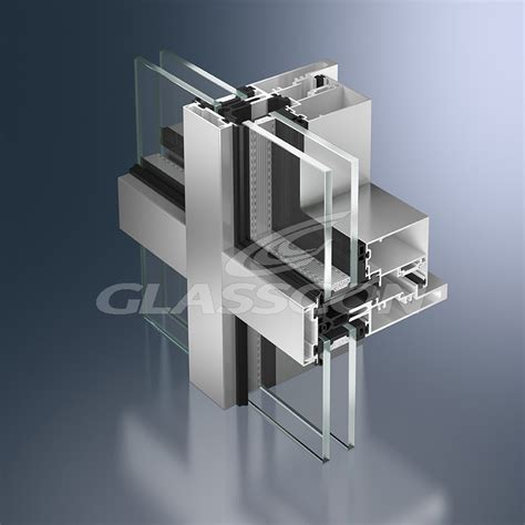 curtain wall systems aluminum curtain walls unitized system glasscon gmbh