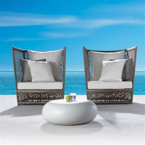 striking modern outdoor furniture hometone