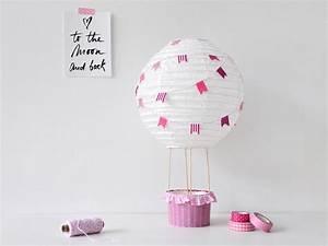 Deko Für Kinderzimmer : diy heissluftballon f r das kinderzimmer gastbeitrag bastelideen pinterest bebe deko y ~ Eleganceandgraceweddings.com Haus und Dekorationen