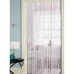 retro string style door patio curtain strip blind 90cm x 200cm
