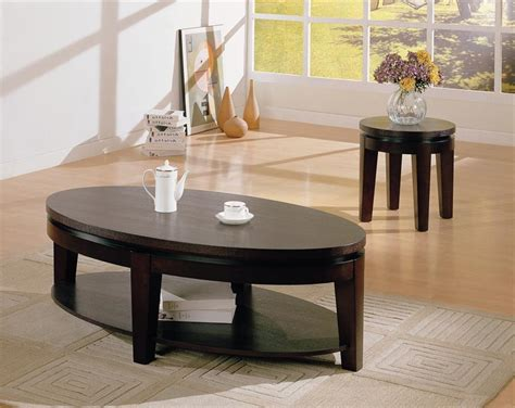 Coffee Tables : Oval Coffee Table Sets Decorating Ideas