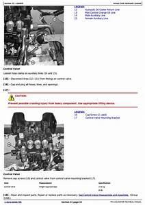 John Deere 326d  328d  329d  332d  333d Skid Steer Loader
