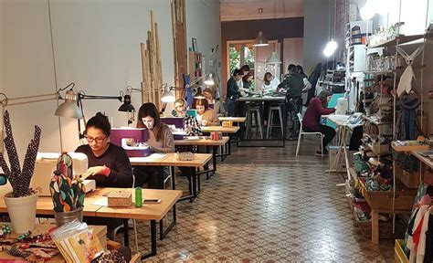 tiendas taller  coser en barcelona guia repsol
