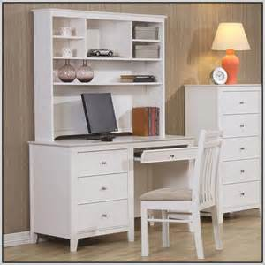 Desk With Hutch White by Computer Desk With Hutch White Desk Home Design Ideas